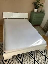 bett weiss hochglanz schlafzimmer möbel gebraucht kaufen