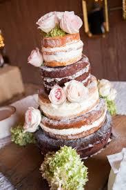 Unfrosted Cake Barn Wedding
