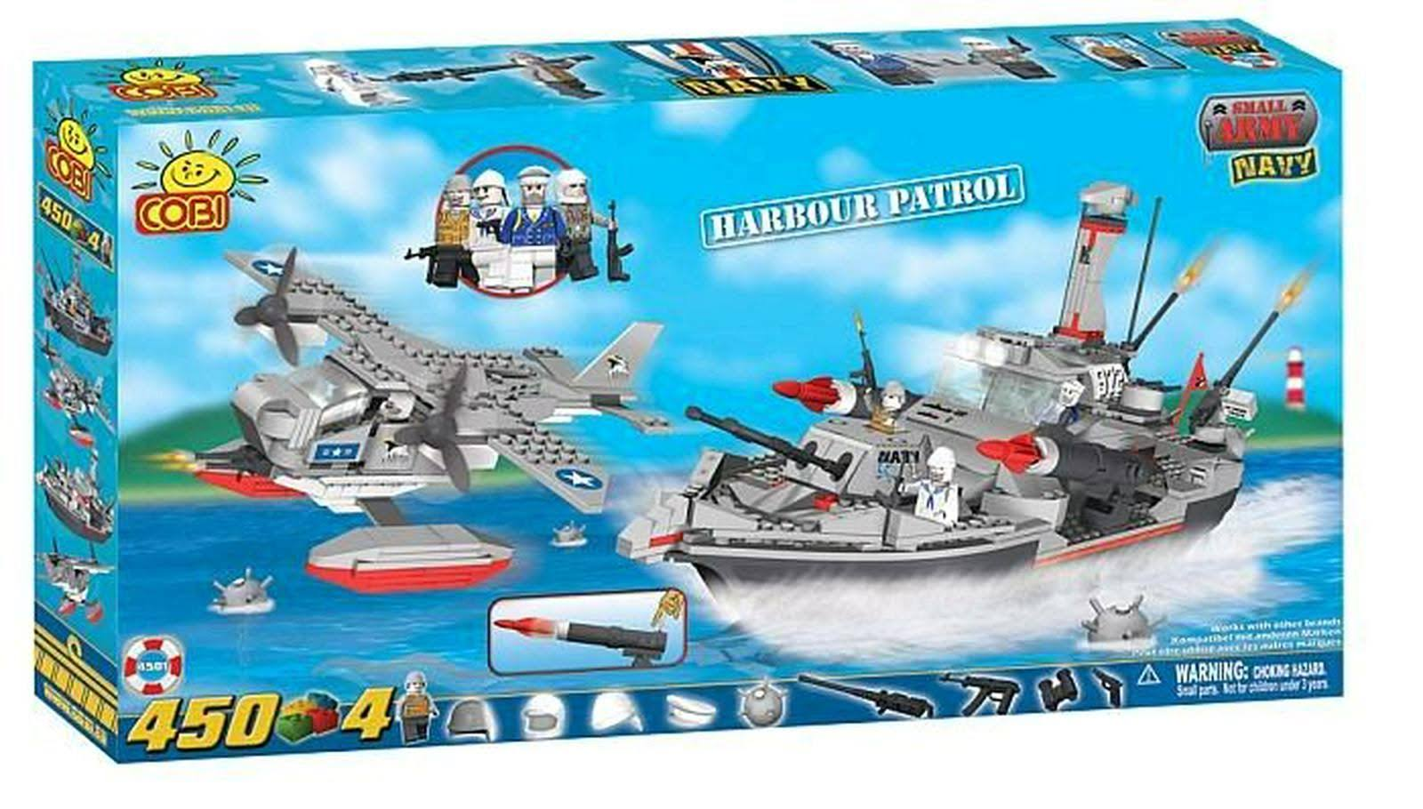Cobi 4501 Small Army Harbor Patrol Set - 450pc