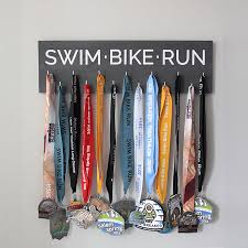 Easy DIY Race Medal Holder Display