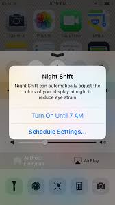iOS 9 3 beta 5 disables Night Shift mode when your iPhone is in