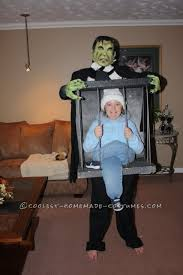 by Frankenstein Caged Illusion Homemade Costume Idea
