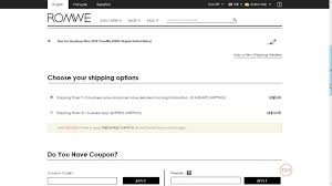 How To Use A Promo Code At Romwe Romwe Coupon Codes Nasty Gal August 2018 50 Off Little Elyara Coupons Promo Discount Okosh Free Shipping 800 Flowers 20 Swimsuits For All Online Coupon Codes Blog Eryna Batteryspace Johnson Fishing Code Ufc Yandy Com Barnes And Noble Printable Coupons This Month September Romwe Home Depot Water Heater Angellift 2019 Earplugsonline Ticketpro Malaysia