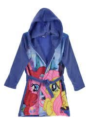 robe de chambre capuche robe de chambre licornes avec capuche fille my pony 14 99