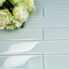 4x12 Subway Tile Spacing by Complete Tile Collection Vermeere Ceramic Tile Ice Blue