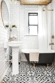 bathroom mesmerizing stunning black and white mosaic tile