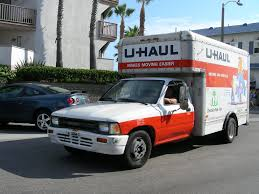 100 U Haul Rental Truck Toyota Another Truck This One An Early1990 Flickr