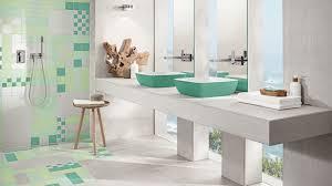 trendfarbe neo mint frischekick für das badezimmer