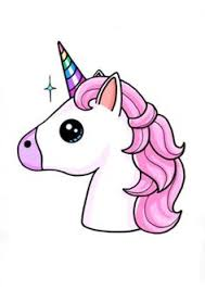So Cute Kawii Unicorn Ive Drawn It Before Turned Out Amazing