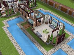 Sims Freeplay Second Floor Stairs by House 63 Level 2 Sims Simsfreeplay Simshousedesign My Sims