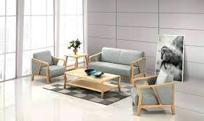 Modern Lobby Furniture Hotel Sofa Wooden Set Designs