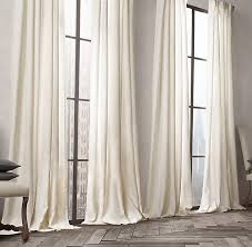 Restoration Hardware Curtain Rod Rings by Opaque Linen Drapery