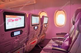 inside of Emirates Airbus A380 – Stock Editorial © teamtime