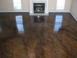 Extremely Ideas Stained Cement Floors How To Stain Concrete Adding Diy