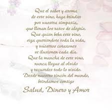 ▷ Poemas De Aniversario De Novios Bodas Colegio