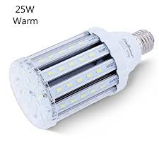 25w warm white led corn light bulb for indoor outdoor large area
