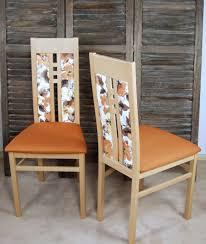 2er set moderne esszimmerstühle massivholz buche terra