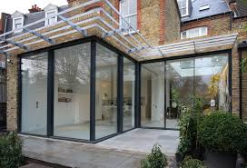 100 Glass Extention Rear Residential Extension With Minimal Windows Sliding