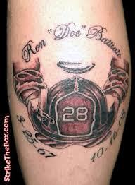 Firefighter Memorial Tattoo