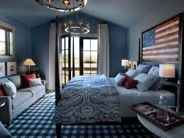 Interesting Ideas Blue Bedroom Design Decor
