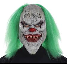 White Halloween Contacts Walmart by Clown Masks Halloween Clown Masks Walmart Com