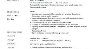 Cleaner Sample Resume Business Owner House Cleaning