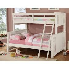 White Twin over Full Bunk Bed Spring Creek