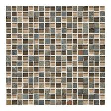 american olean mosaic tile shop american olean delfino glass driftwood squares mosaic