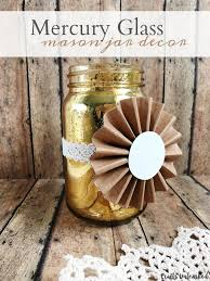 Supplies Needed To Make Your Own Mercury Glass DIY Jar Decor ClickLinks1