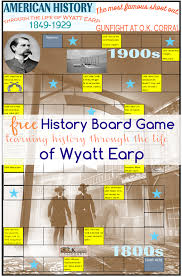 Learning American History Game Through The Life Of Wyatt Earp Tinas Dynamic Homeschool Plus