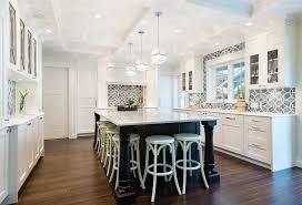 white kitchen backsplash cabinets gray accents and glass