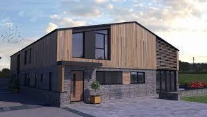 100 Modern Barn Conversion Ashbrook Abbots Bromley Neil Boddison Associates Ltd