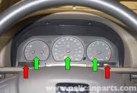 volvo v70 instrument cluster replacement 1998 2007 pelican