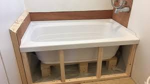 Tub Drain Leaking Under House by Plumbing Leak New Tub Install U2013 Choo Choo Tiny House