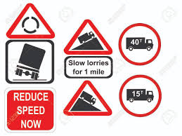 100 Signs For Trucks Truck Reduce Speed Now And Slow Royalty Free Cliparts