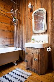 Image Of Bathroom Rustic Decor