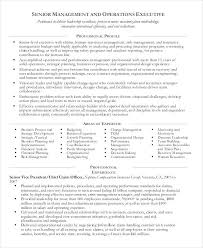 Risk Management Resume Objective Examples Operations Manager Example