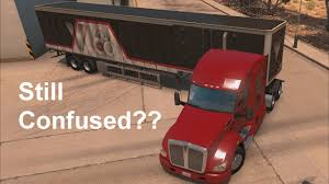 100 Mid City Truck Driving Academy American Simulator How To Back Up A Trailer Pt 2 YouTube