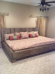 This Shape Style Of Bad Frame More Wood Bed FramesRustic