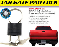 Truck Tailgate Lock Truck Tailgate Padlock 2006 Honda Ridgeline Truck Of The Year Road Test Review Nashbar Gatekeeper Tailgate Pad Customs 2015 2017 Bed Audio System Explained Video Dont Lower Your Tailgate Gm Details Aerodynamic Design Of 2014 Best Pad Mtbrcom Downward Spiral March 2012 Tailgates Fifth Wheel Tailgates Straight Louvered Wraps For Trucks Tailgatewrapscom Are The New Texas T For Auto Thieves News Carscom Protector Discount Accsories Usa Ford Fseries Now Official Nfl Celebrating Toughest