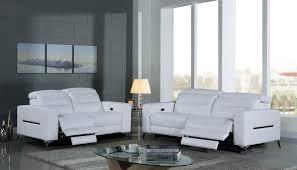 canape relax electrique cuir canapé relax électrique en cuir doa blanc destockpro