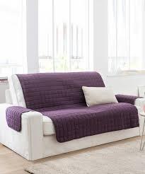 protege canape protège fauteuil et canapé 2 accoudoirs matelassés taupe