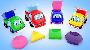 100 Dump Truck Song Learn Colors Shapes For Children With A Lot Of Colors