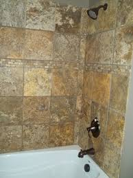 scabos travertine floor tile scabos tumbled travertine bathroom remodel project traditional
