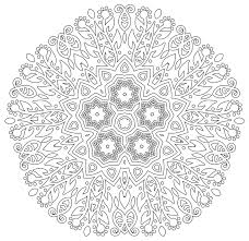 Coloring Book For Stress Relief And Meditation