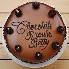 Chocolate Brown Betty Serv