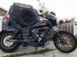 2017 Harley Davidson FXDLS And Blacked Out Toyota FJ Cruiser ...