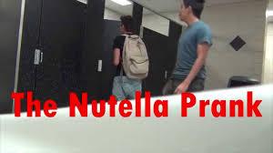 the nutella prank youtube