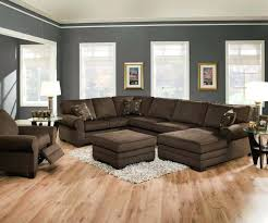 Dark Teal Living Room Decor by Teal Couch Living Room Example Of A Trendy Dark Wood Floor Living