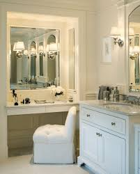Bath Vanities With Dressing Table by Best 25 Mirrored Vanity Ideas On Mirrored Vanity